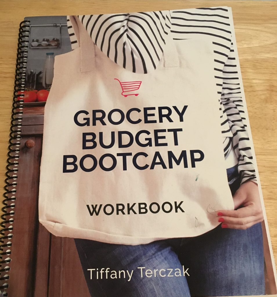 Grocery Budget Bootcamp Workbook